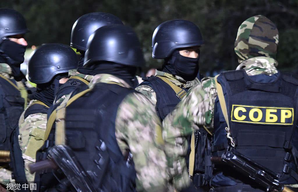吉尔吉斯斯坦特种部队抓捕前总统 受其支持者阻拦|视觉中国|腐败