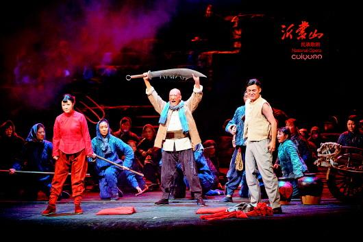 民族歌剧《沂蒙山》演出70多场一票难求
