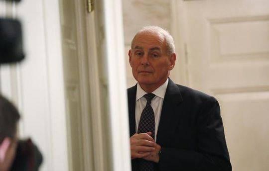 白宫幕僚长约翰·凯利(John Kelly)再度被爆出威胁要辞职
