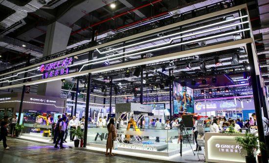 格力机器人新品亮相工博会,助力智造升级