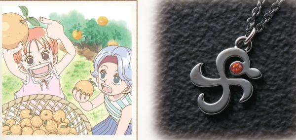 《海贼王》动画开播20周年纪念周边首饰 小巧精致