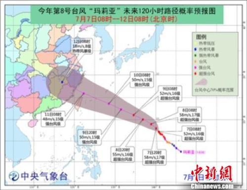 福建提升防台风应急响应为Ⅲ级