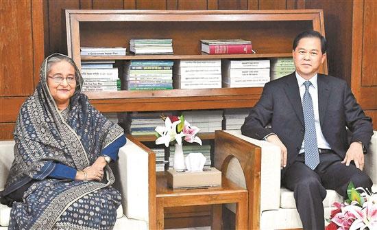 陈豪率云南省友好代表团访问斯里兰卡和孟加拉国