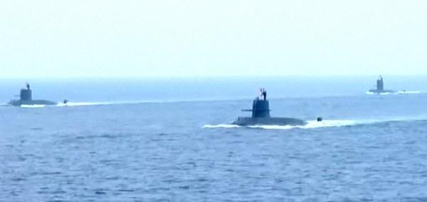 """""""大洋黑洞"""":新型常规潜艇。"""
