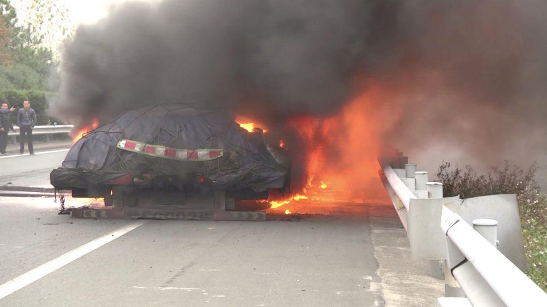 7天3起!江西接连发生大车轮胎起火事件!警惕