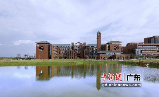 华南理工大学广州国际校区首次启用 迎来2323名新生入学