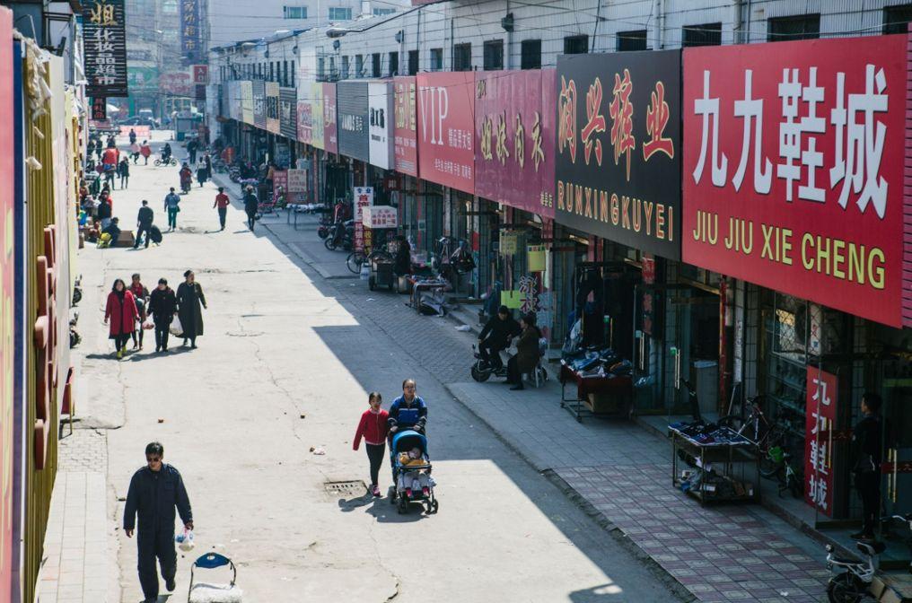 雄安新区街头。李昊摄