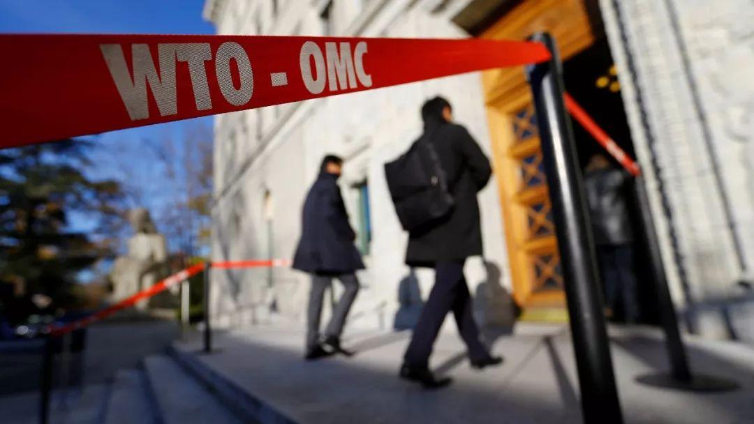 ▲资料图片:2017年11月22日,与会代表进入位于日内瓦的世贸组织(WTO)总部。(路透社)