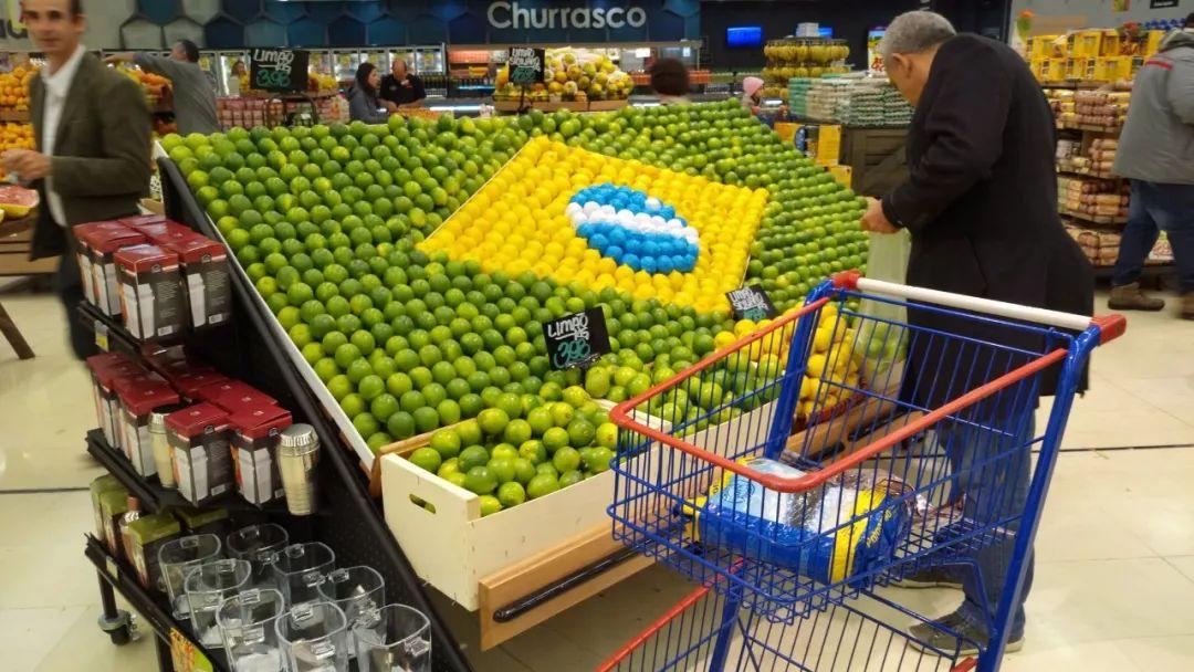 """""""超市大妈""""的世界杯陈列创意!快消人必学的超市陈列"""