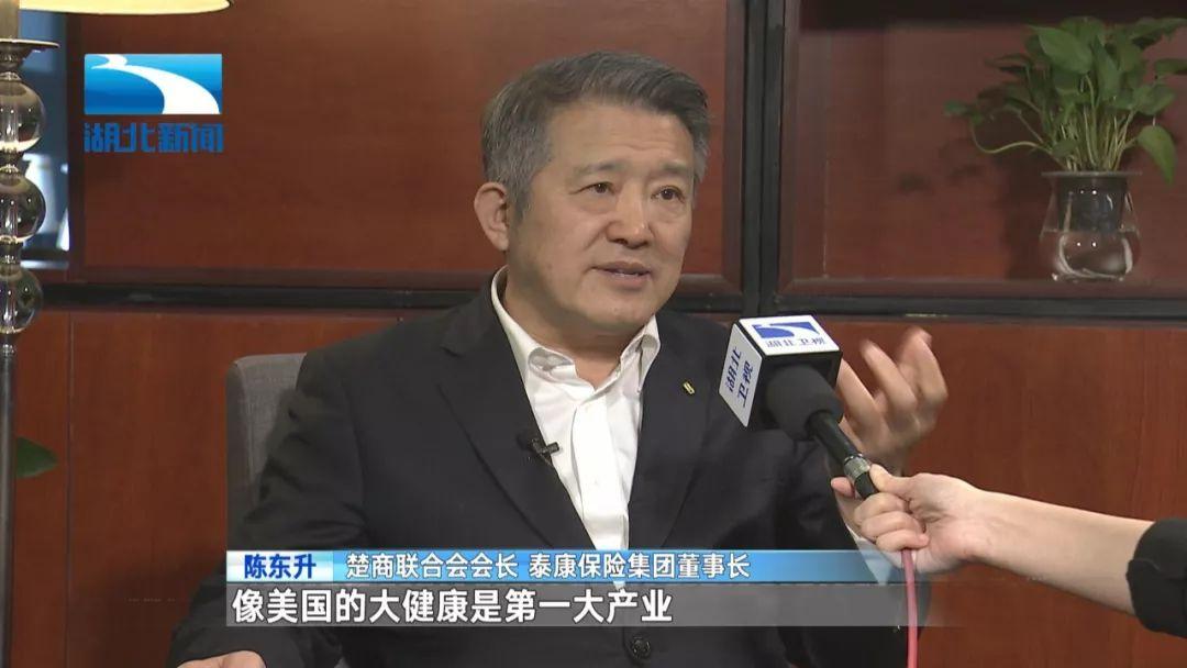 """陈东升:5年10年后,武汉会有一张""""超级名片"""""""