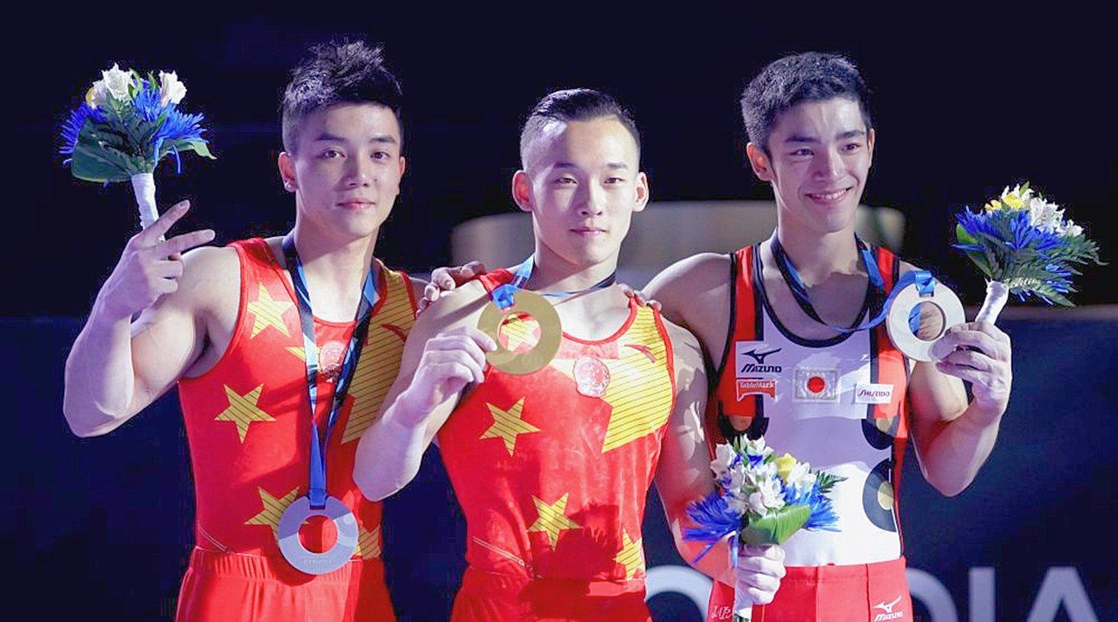 2017年 世锦赛 男子全能决赛