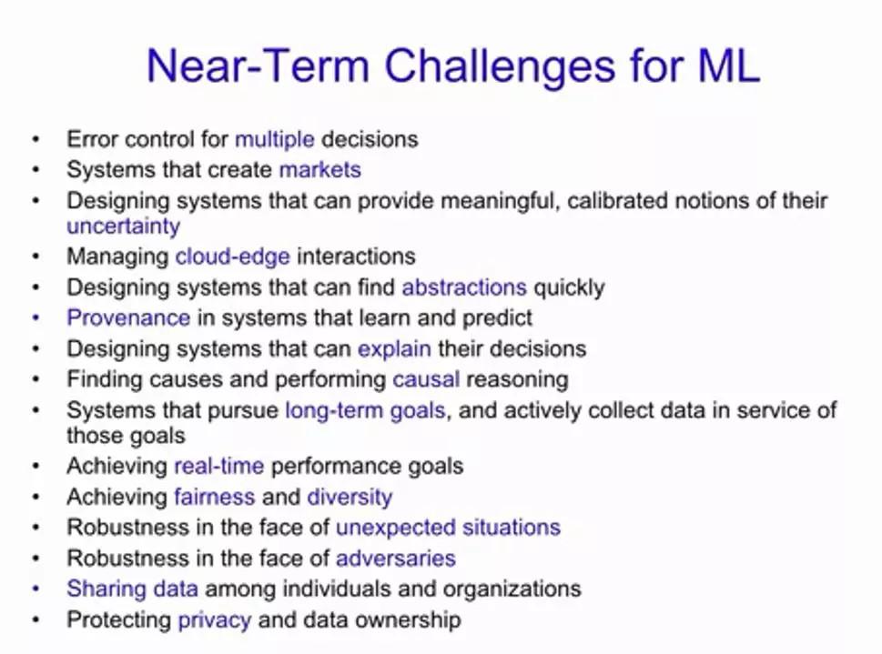 机器学习大神迈克尔 · 乔丹:我讨厌将机器学习称为AI