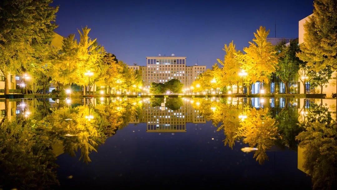 清华园新地标主楼喷泉景观明日起投入运行