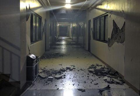 菲律宾地震造成山体滑坡和建筑物损坏 致4人死亡
