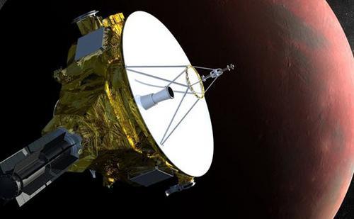 """美国宇航局成功地将""""新地平线""""探测器从休眠状态中唤醒。图片来源:NASA。"""