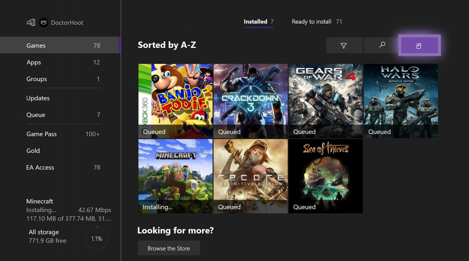 "Xbox商店推出""给我惊喜""功能 为你打开随机游戏"