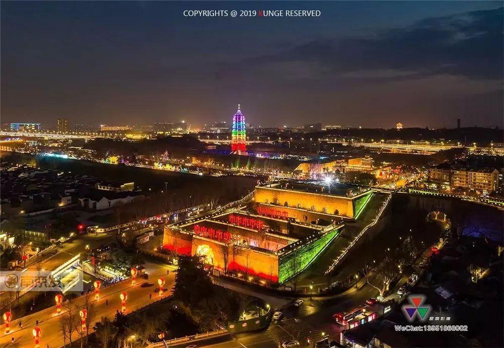 问政视频|当南京中华门遇上3D光影秀