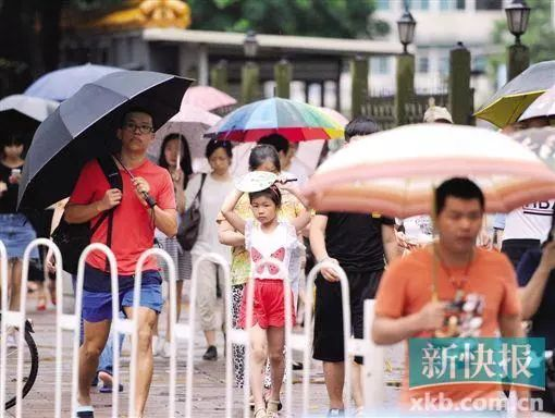 广州明天暴雨来袭!之后雨水可能会更猛 因为今年下少了