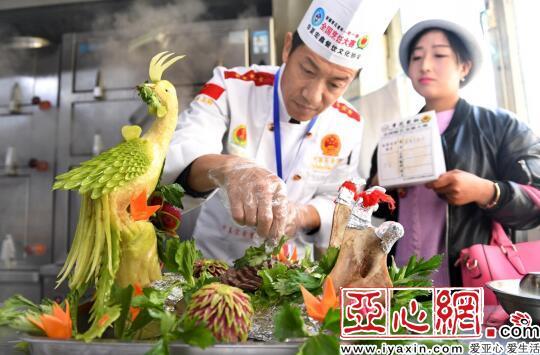 130余名厨师献艺新疆厨艺交流大赛|新疆|厨师|河豚