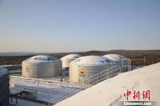 2017年漠河中俄原油管道累计进口管输原油1650万吨,货值66.78亿美元。 钟欣 摄