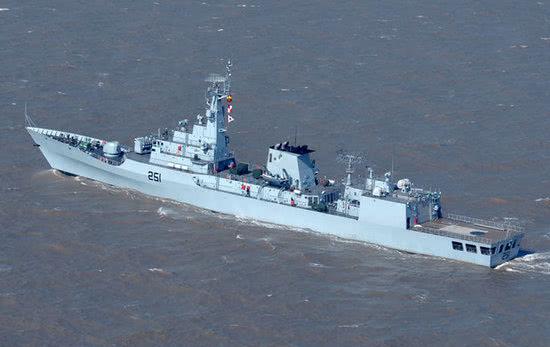 图为巴基斯坦海军的F22P护卫舰