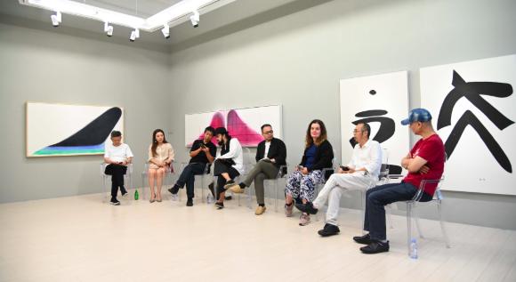 以水墨的方式超越水墨,5位艺术家在无用空间谈论水墨哲学