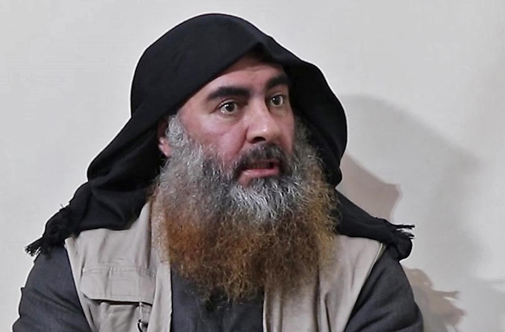自称巴格达迪的男子,图自视觉中国