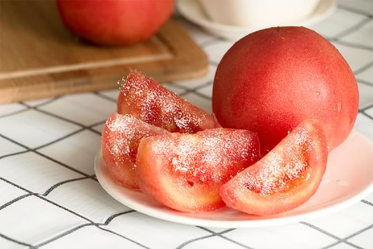 吃西红柿拌白糖 体内会长螨虫?