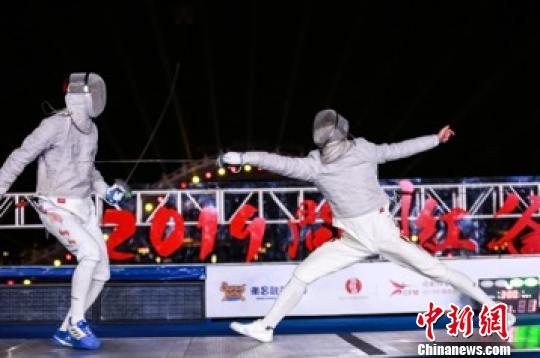 第二届中国击剑大师赛在江西南昌举行(图)