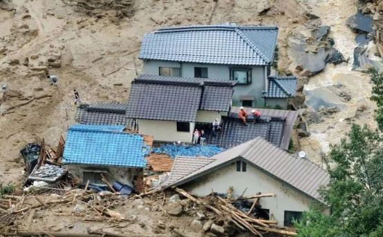 日本暴雨已致199人死亡 或被定为极其严重灾害