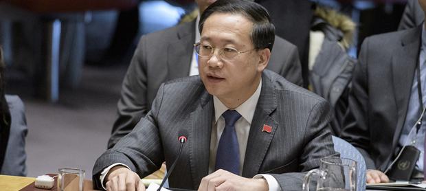 马朝旭 图自联合国网站