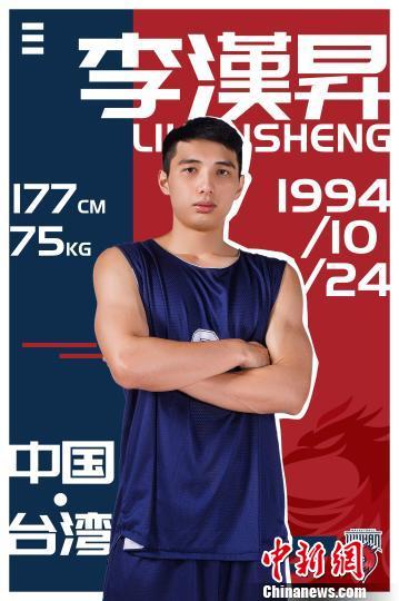 台湾篮球控卫李汉昇的大陆逐梦之旅