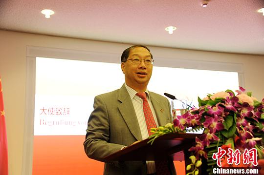 资料图:中国驻德国大使史明德。 中新社记者 彭大伟 摄