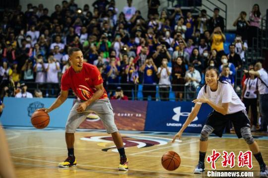 NBA球星库里开启第四次亚洲行 9月将空降武汉