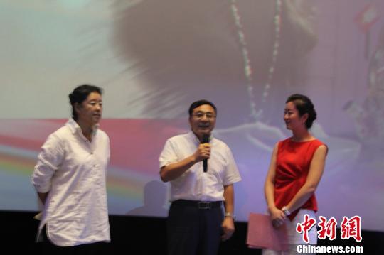 电影《喀赞其的姑娘》在新疆伊宁市首映