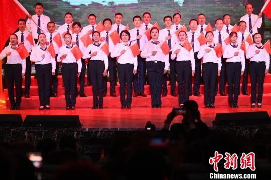 西藏自治区工商联举办庆祝新中国成立70周年文艺晚会