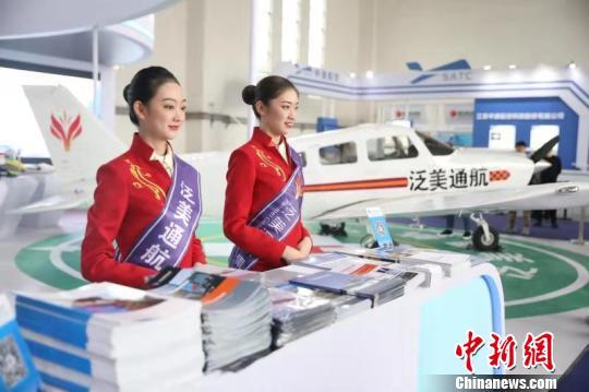 2019四川国际航空航天博览会现场。 钟欣 摄