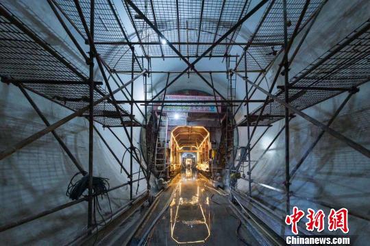 此前建立中的千岛湖配供火工程。杭州市火务团体供图