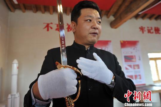 """中国""""国刀""""亮相兰州新区 免费"""