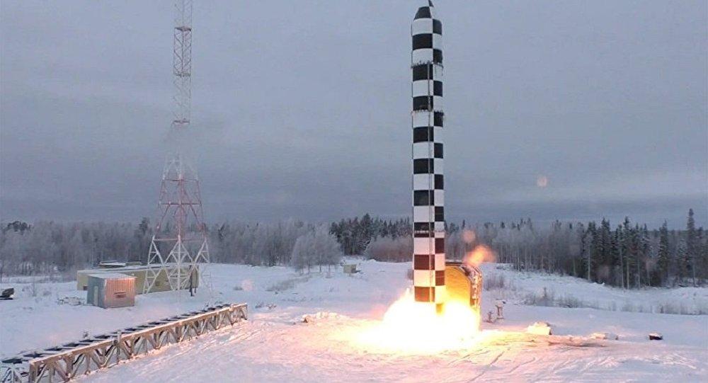 """普京""""大杀器""""有新动作:萨尔马特导弹将再次实验"""