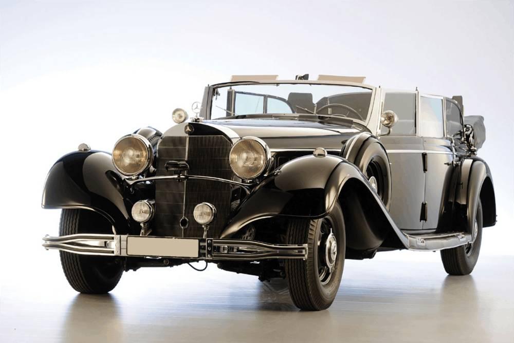 希特勒这辆昔日座驾时速可达160公里以上,在1939年已属非常难得。