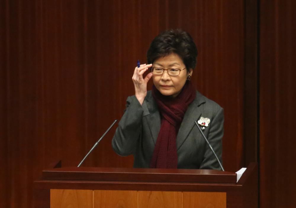 林郑月娥批评反对派将上诉得直看得过分简单,强调罪犯以行使宪法权利为请求轻判的理由不甚可取