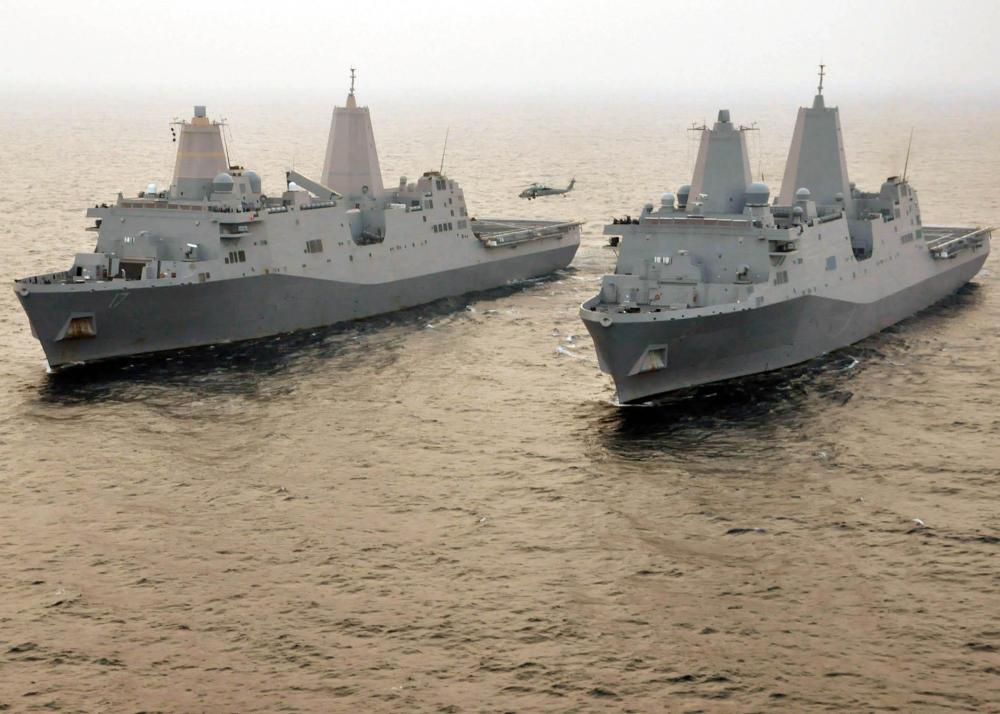 美将建造天价登陆舰 中国用同样的钱至少能造五艘