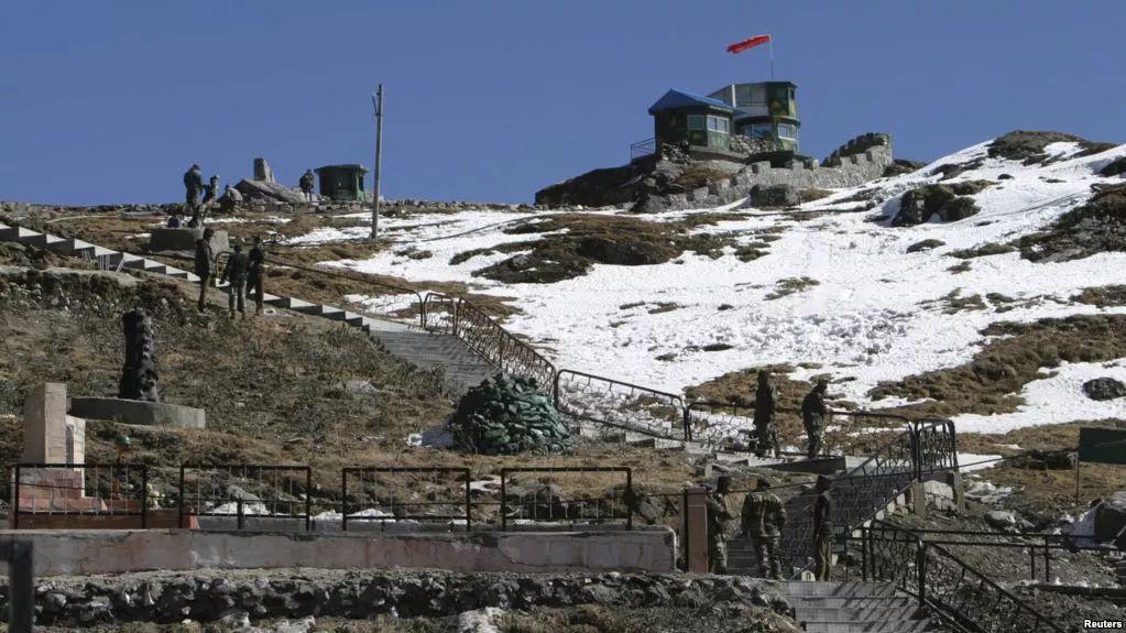 ▲资料图片:印度军队在中印边境巡逻。(路透社)