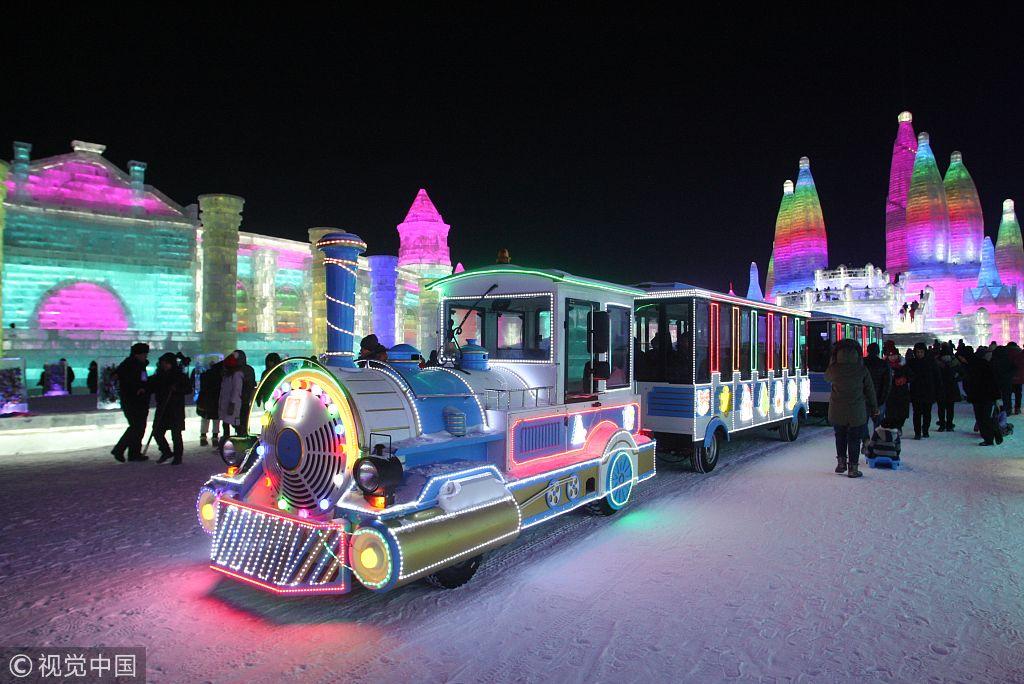 哈尔滨冰雪节开幕 七大主题产品打造国际冬游热地图片