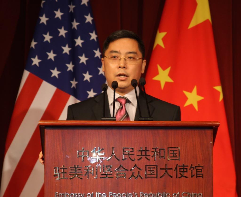 中国驻美公使:美军舰抵达高雄日就是我军武统之时
