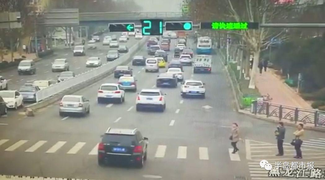 多么痛的领悟!一段车祸视频,刷爆青岛人的朋友圈!如果她能耐心等21秒…