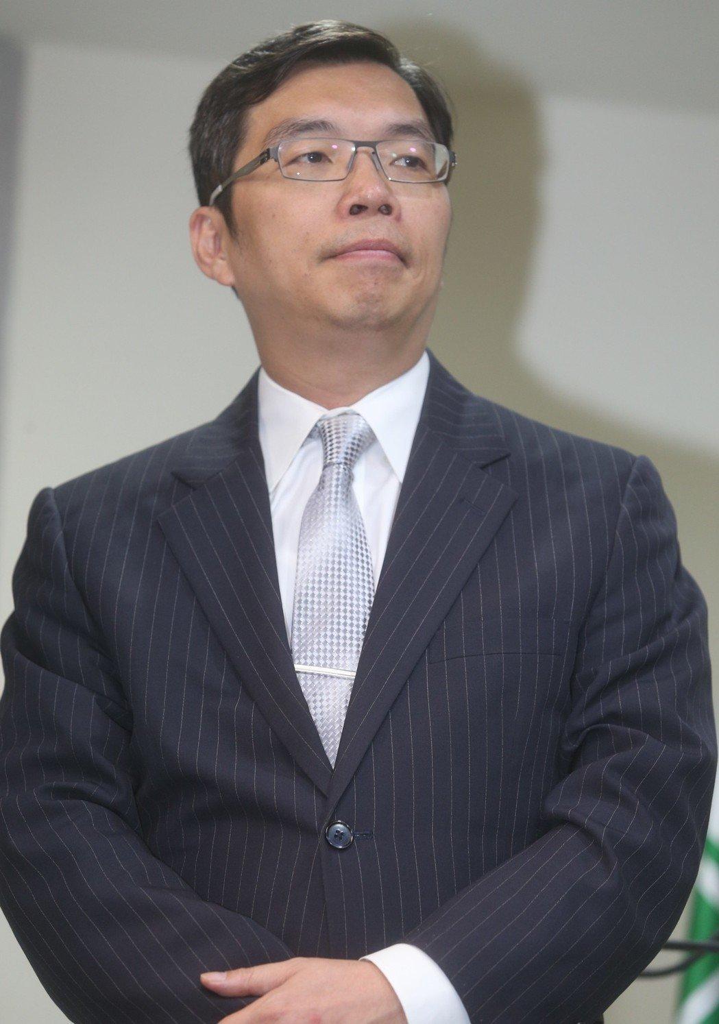民进党中央党部新闻部主任孟义超(台媒)
