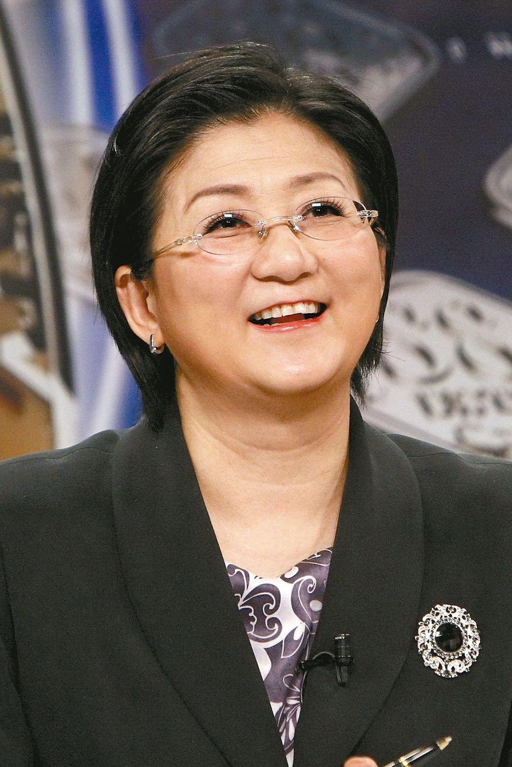 """台湾""""妇联会主委""""雷倩(图片来源:《联合报》)"""