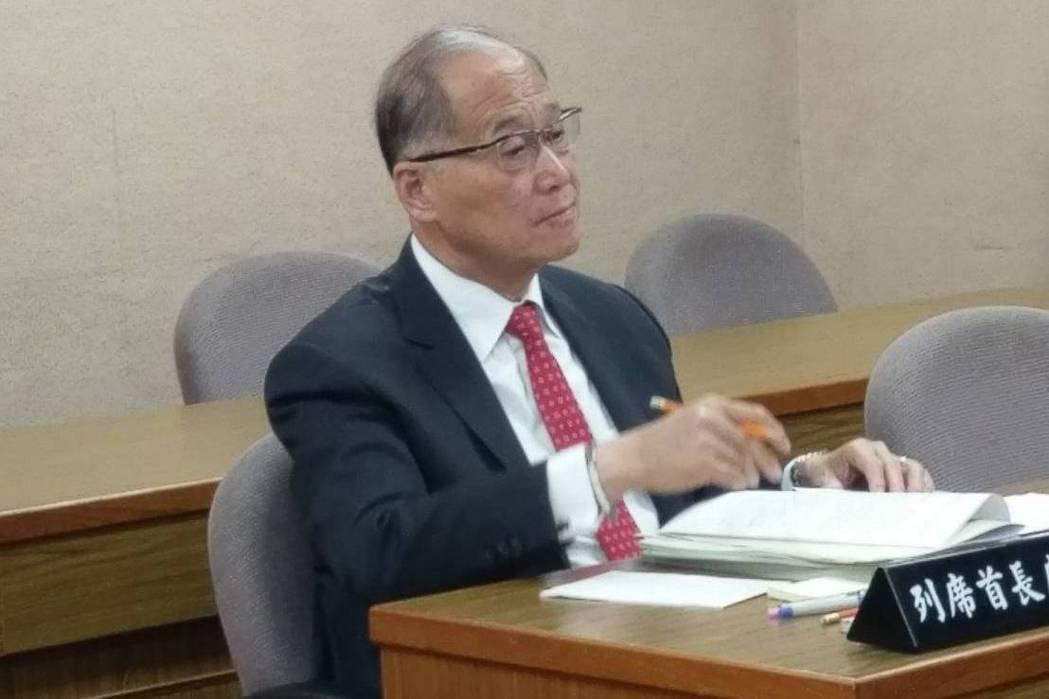 台当局涉外部门负责人李大维坦言帕劳让他很伤脑筋(图片来源:联合新闻网)